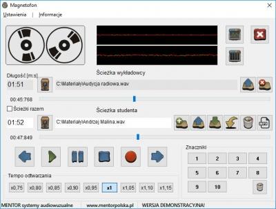 Pracownia Mentor Advanced - Oprogramowanie ADV-MC (dla lektora i uczniów - licencja na wszystkie stanowiska)