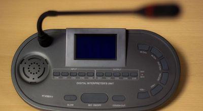 pulpit tłumacza - System tłumaczeń symultanicznych Audytor IR