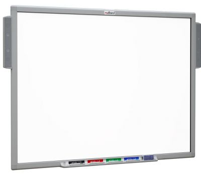Interactive whiteboard myBoard with speakers -